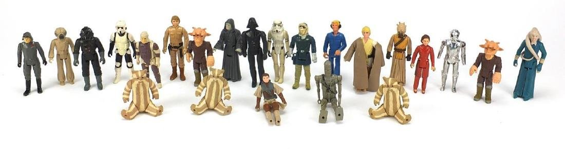 Group of predominantly 1980's Star Wars figurines