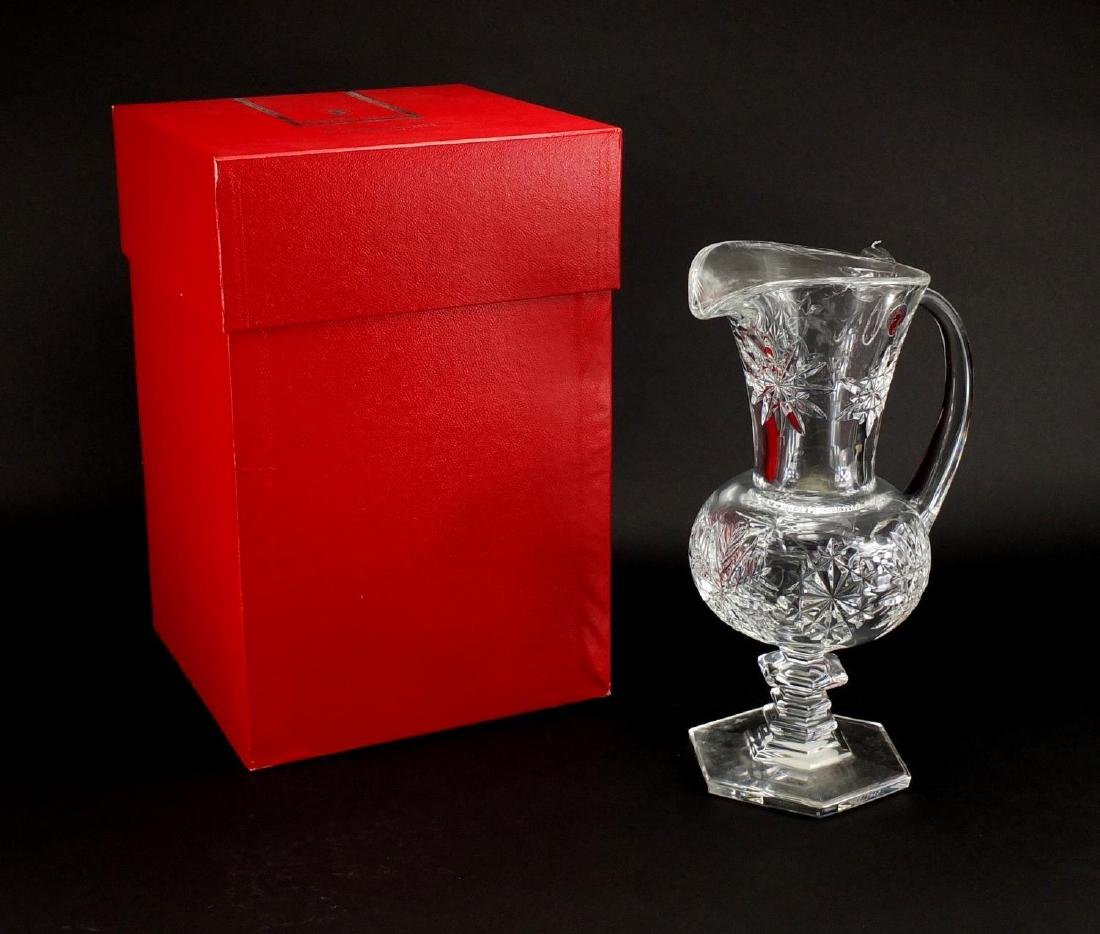 As new Waterford crystal designers Gallery pitcher, limited edition 499/3000, with box, 33cm