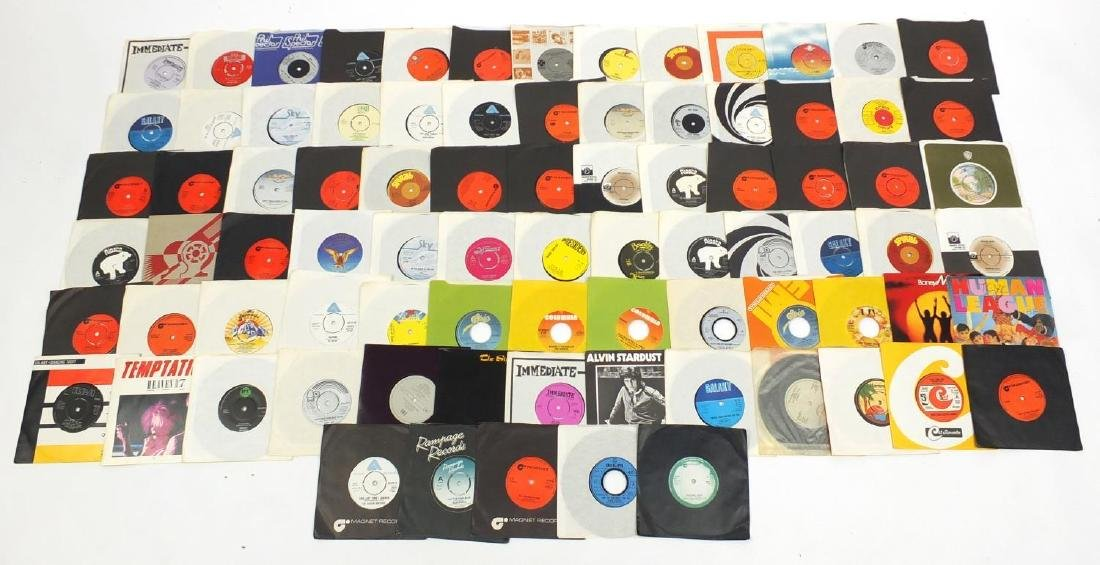 7 inch LP's including Alfred Bell and Duncan Browne
