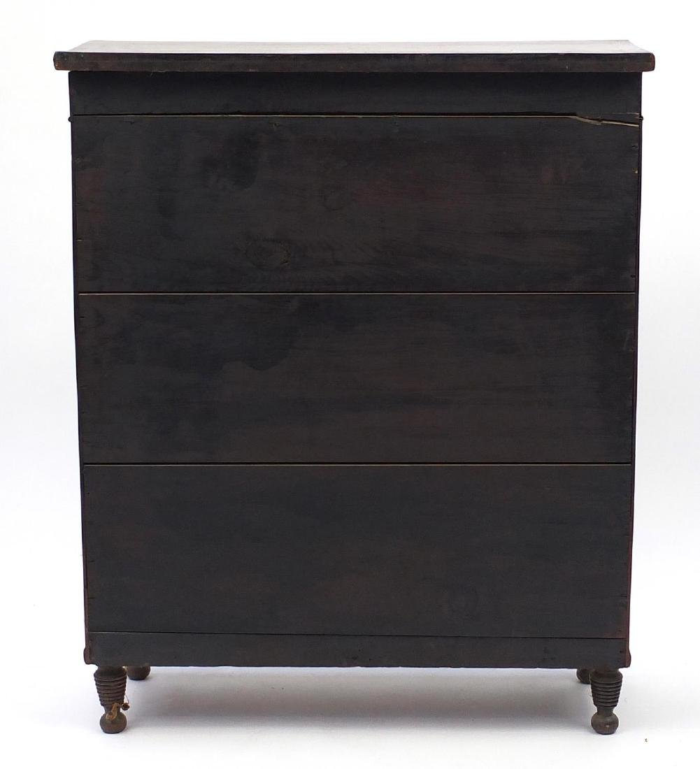 George IV mahogany chiffonier of small proportions, - 5