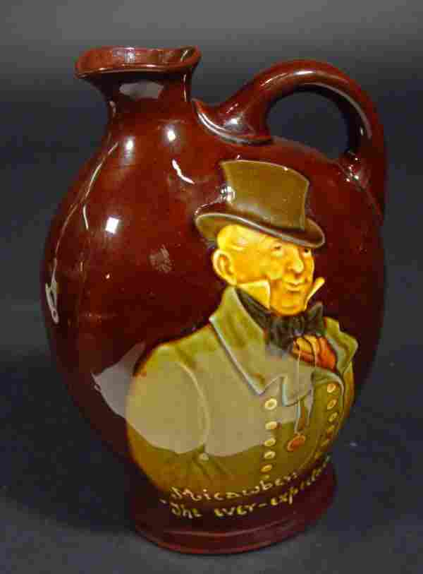 400: Royal Doulton Dewars Whisky advertising jug relief
