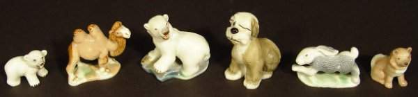 506: Small selection of Wade Whimsies including polar a