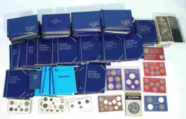 726: Extensive collection of predominantly British coin