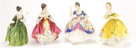Four Royal Doulton Figurines, The Last Waltz HN2315,