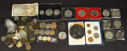 593 Collection of predominantly British coinage includ
