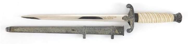 German Military interest dagger design letter opener