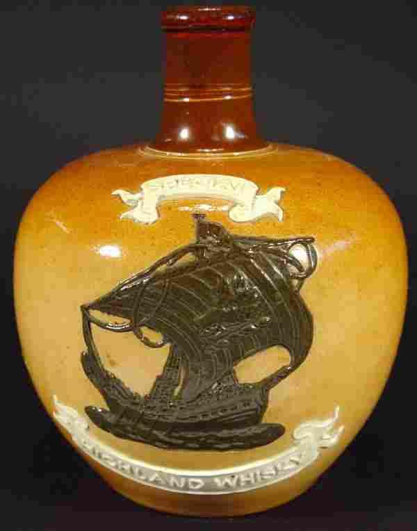 Royal Doulton stoneware 'Special Highland Whisky'