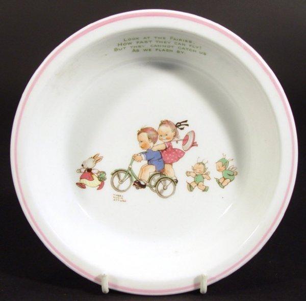 1207: Shelley Mabel Lucie Atwell designed bone china bo