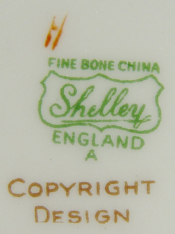 1207: Shelley Mabel Lucie Atwell designed bone china bo - 2