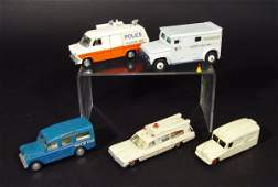 698 Five Dinky Toys and SpotOn commercial vehicles co