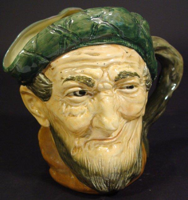 1209: Large Royal Doulton Auld Mac character jug with h
