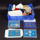 637 Collection of modern proof coinage including 1983