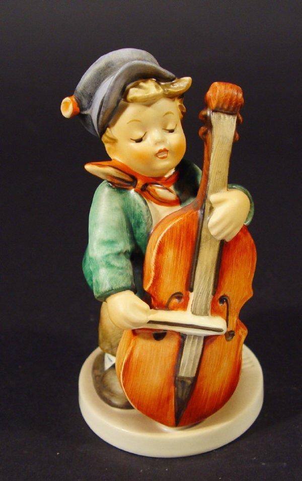 1203: Goebel Hummel china figurine 'Sweet Music', with