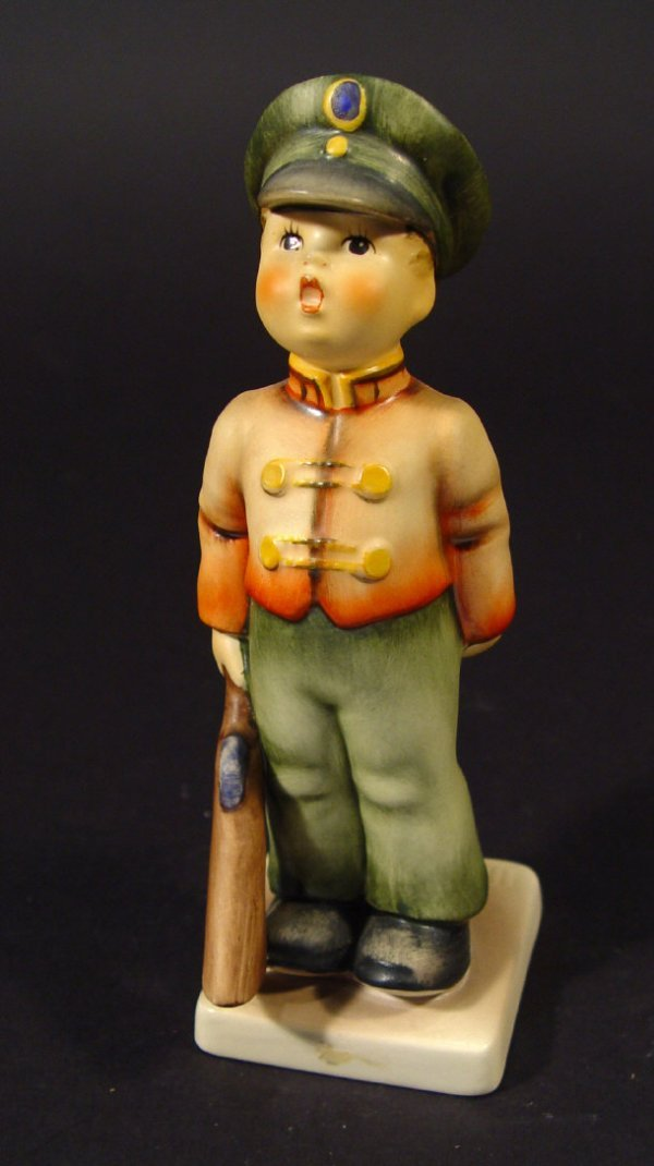 1204: Goebel Hummel china figurine 'Soldier Boy', with