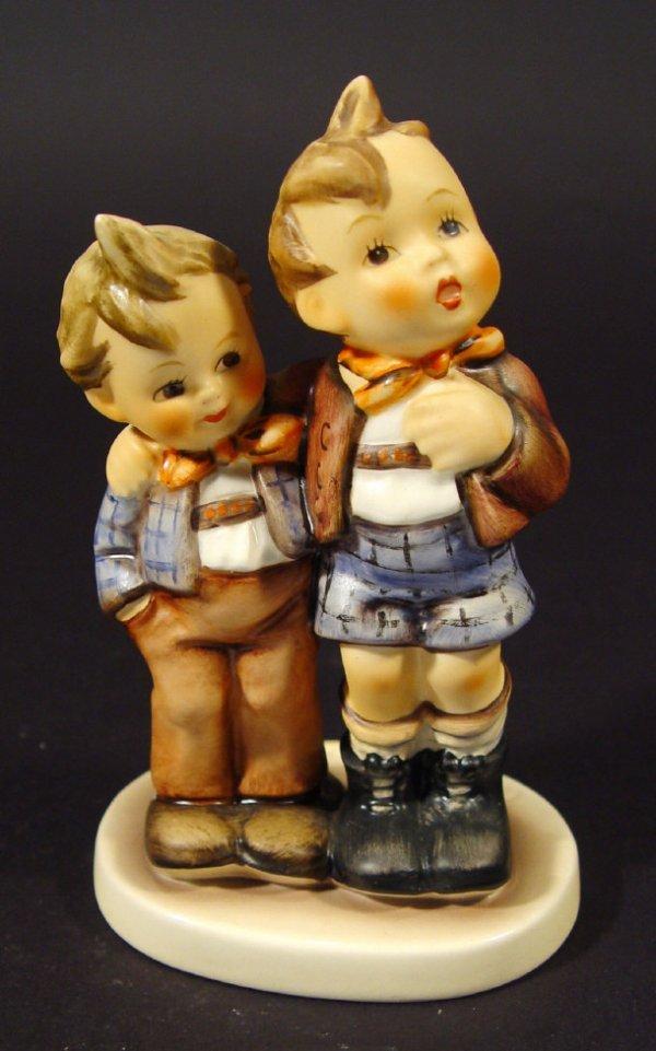 1208: Goebel Hummel china figurine 'Max und Moritz', wi