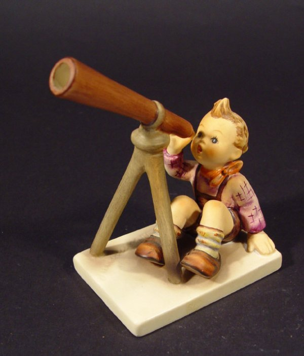 1214: Goebel Hummel china figurine 'Stargazer', with ha