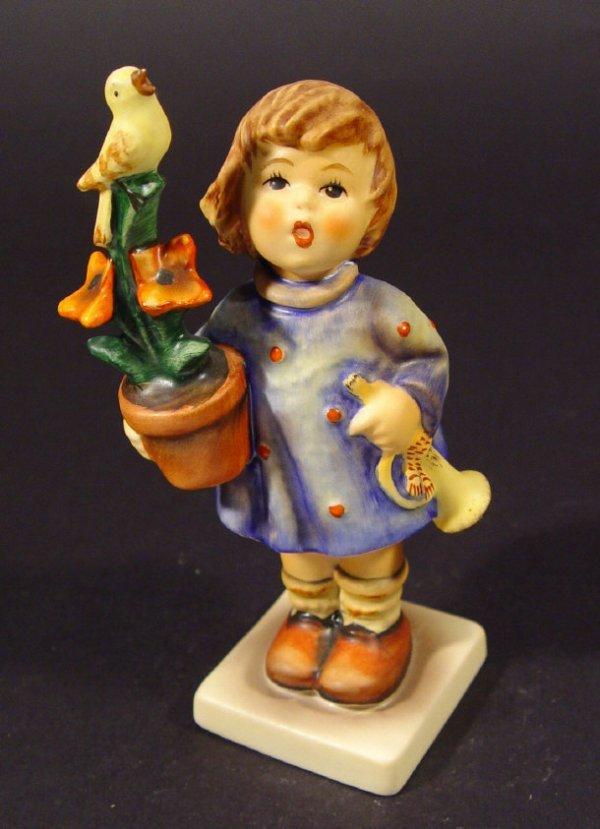 1219: Goebel Hummel china figurine 'Congratulations', w