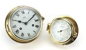 Schatz Royal Mariner ship design bulk head clock and a