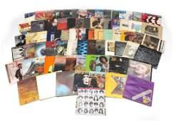 Vinyl LP's including David Bowie, Alice Cooper, Pink