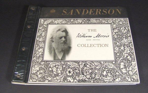 653: Sanderson William Morris collection wallpaper samp