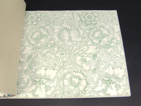 653: Sanderson William Morris collection wallpaper samp - 2