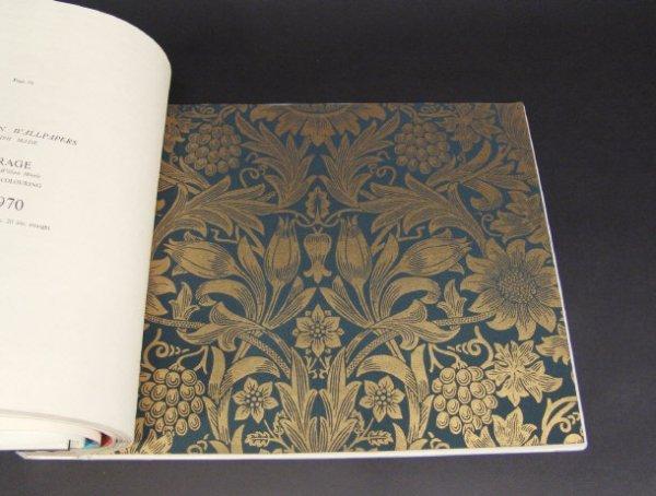 653: Sanderson William Morris collection wallpaper samp - 3