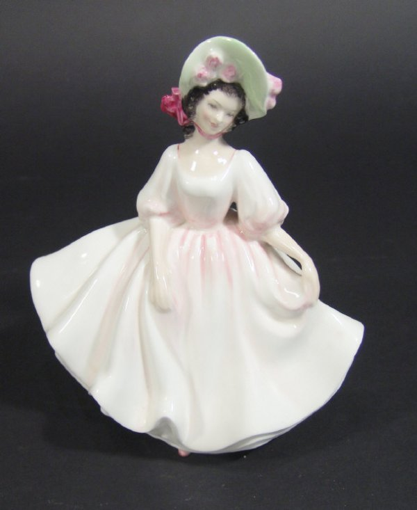 1201: Royal Doulton figurine Sunday Best HN2698 printed