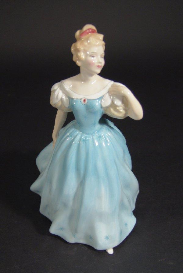 1202: Royal Doulton figurine Enchantment, HN2178, print