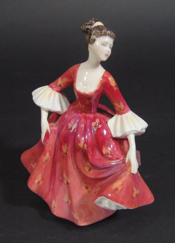 1203: Royal Doulton figurine Stephanie HN2811 printed f