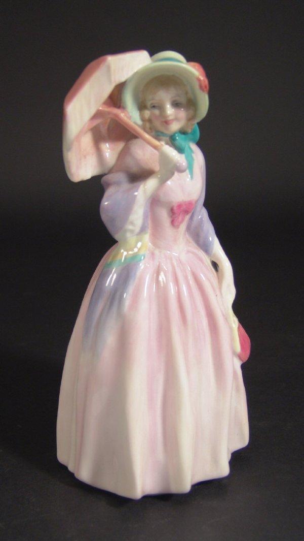 1204: Royal Doulton figurine 'Miss Demure', HN1402, pri