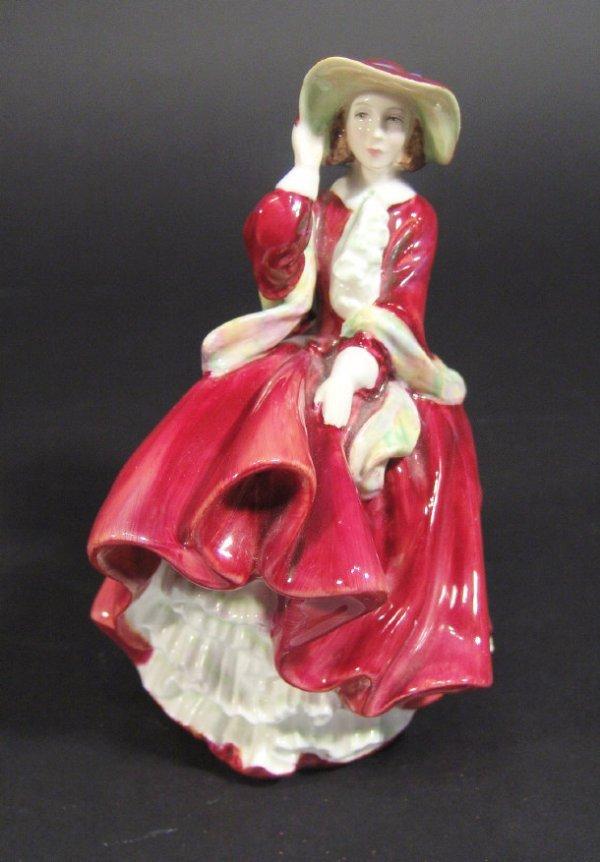 1205: Royal Doulton figurine 'Top O' the Hill' HN1834 p