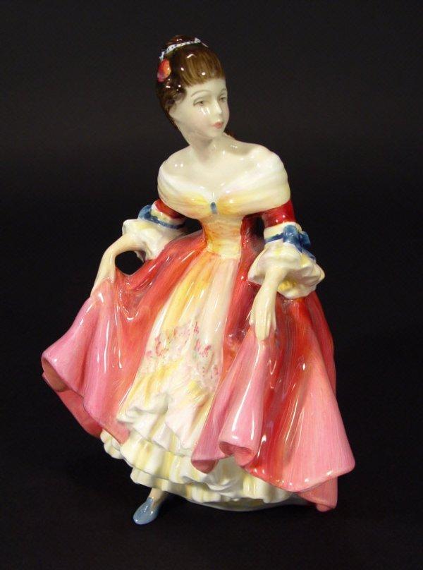 1206: Royal Doulton Pretty Ladies figurine 'Southern Be