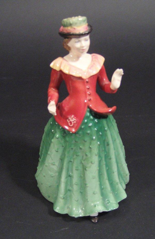 1209: Royal Doulton figurine 'Holly' HN3647 printed fac