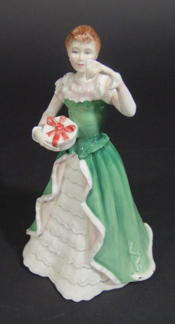1210: Royal Doulton figurine 'Merry Christmas' HN3096,