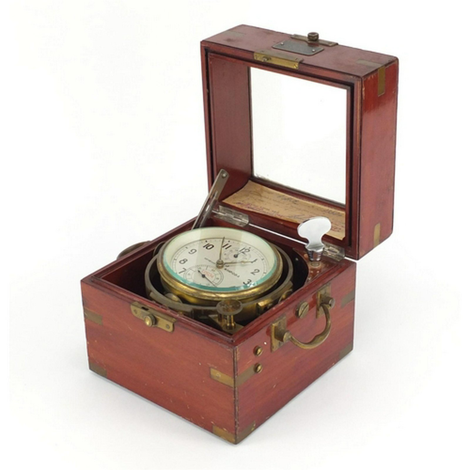 Russian two day marine chronometer, housed in a