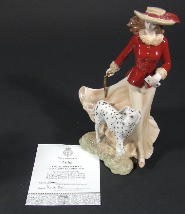 1258: Royal Worcester Collectors' Society figurine 'Mil