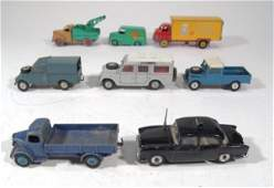 1515 Eight Corgi Dinky and Spoton diecast vehicles