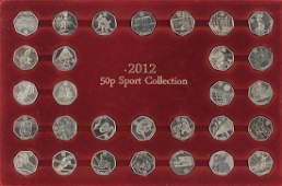 Collection of Elizabeth II London 2012 Olympic design