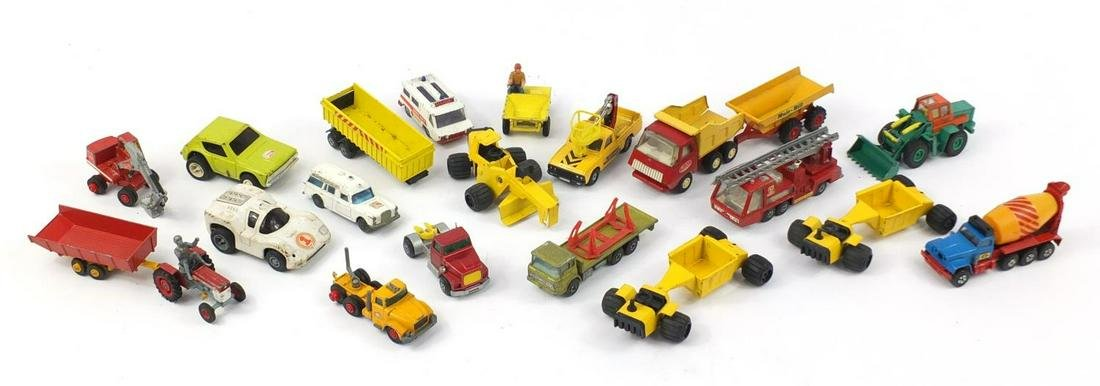 Vintage and later die cast vehicles including Tonka,