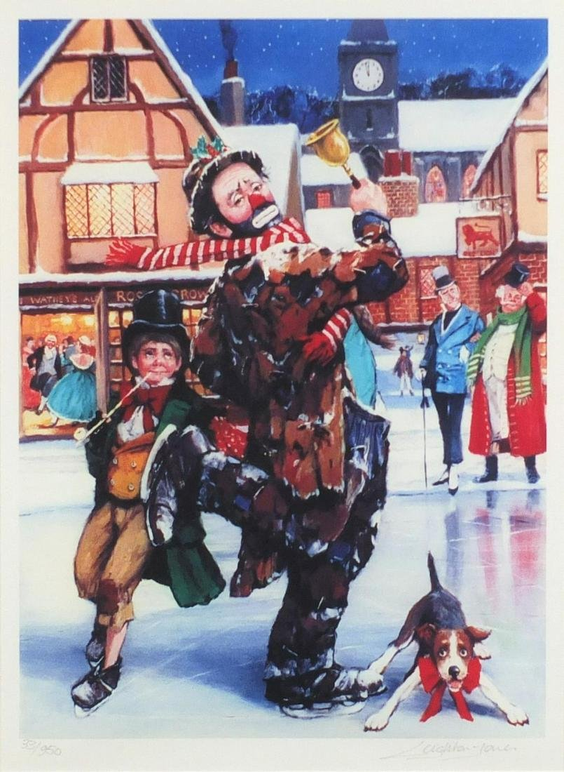 Barry Leighton-Jones - 'Tis the season', giclee on
