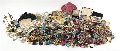 Extensive collection of vintage and later costume