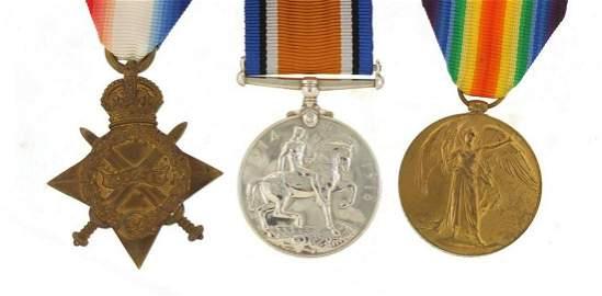 British military World War I trio awarded to