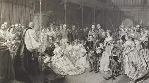 After John Philip - Coronation of Queen Victoria, black