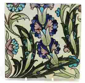 William de Morgan for Sands End, Arts & Crafts pottery