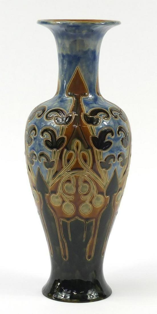 Frank Butler for Royal Doulton, large Art Nouveau