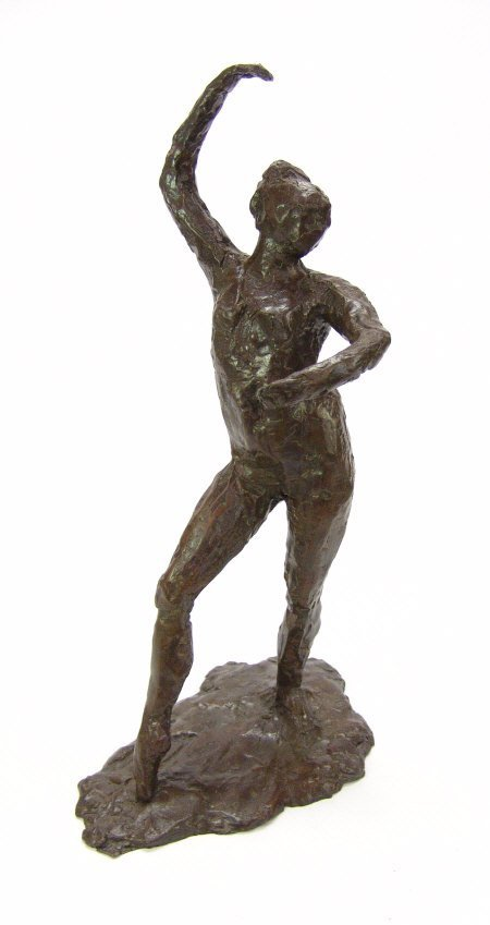 1: Edgar Degas? Spanish Dancer, bronze, stamped with A.