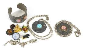Vintage and later jewellery including an Arts & Crafts