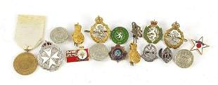 Military interest badges and pips including The Women's