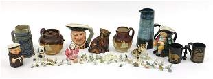 Collectable china and animals including Royal Doulton