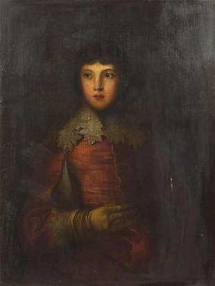 Portrait of a young gentleman, 18th century Continental